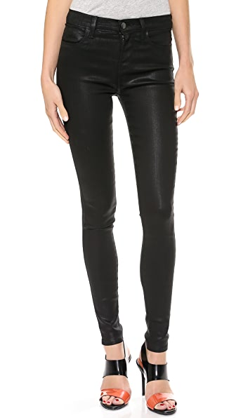 J Brand 23110 High Rise Coated Jeans