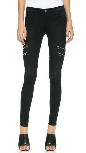 J Brand 8870 Dee Zip Photo Ready Skinny Jeans