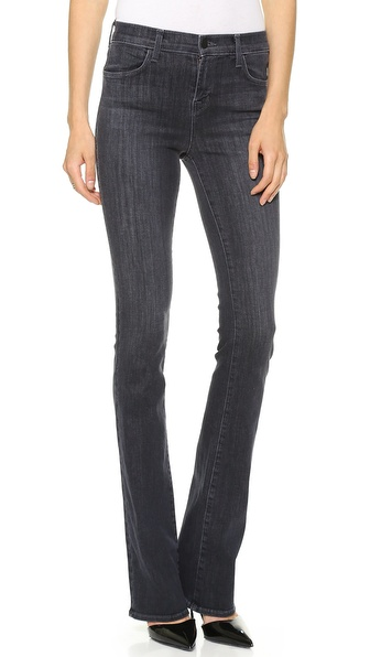 J Brand 8017 Remy High Rise Boot Cut Jeans