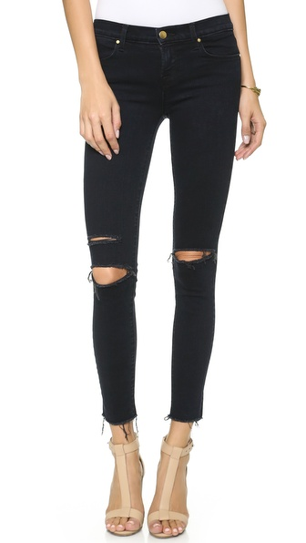 J Brand 8227 Mid Rise Ankle Skinny Jeans