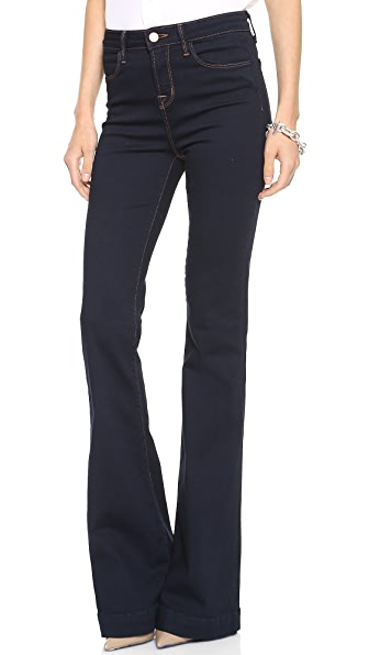 J Brand The Doll High Waist Bell Bottom Jeans