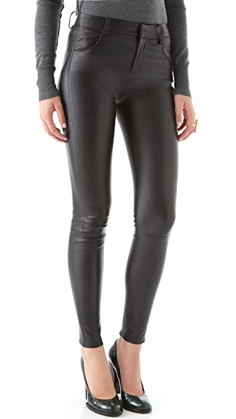 J Brand Ready-to-Wear Aggy Leather Pants