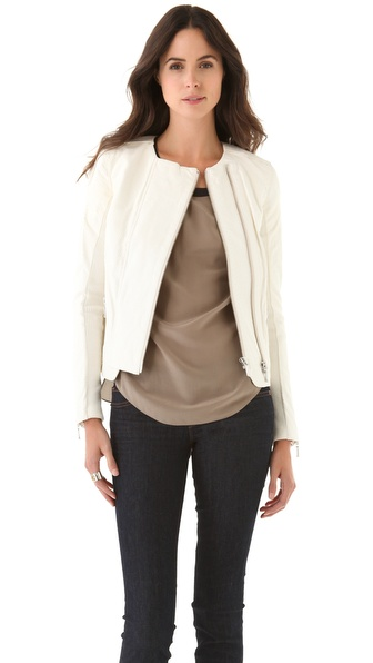 J Brand Ready-to-Wear Abiah Leather Jacket
