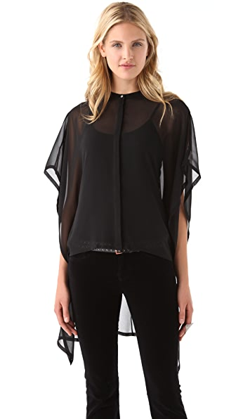 J Brand Ready-to-Wear Cody Drape Top