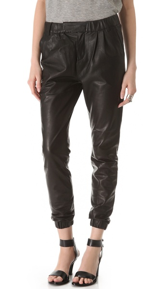 J Brand Ready-to-Wear Blair Leather Pants