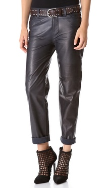 J Brand Ready-to-Wear Paulette Leather Pants
