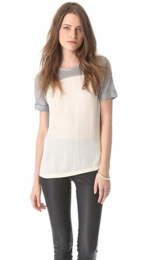 J Brand Ready-to-Wear Raya Tee