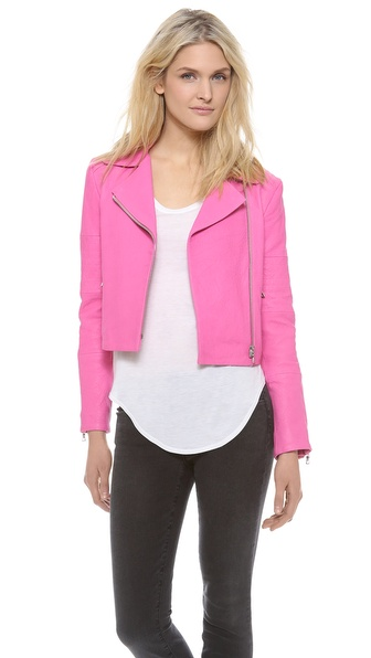 J Brand Ready-to-Wear Wayfarer Leather Jacket