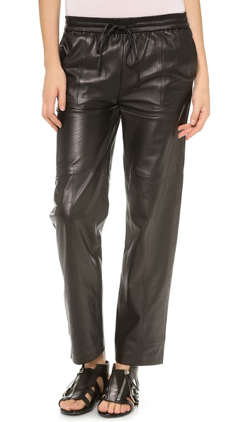 J Brand Ready-to-Wear Chapman Leather Trousers