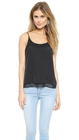 Майка Marlena J Brand Ready-to-Wear. Цвет: черный/черный