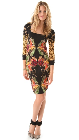 Just Cavalli Cheyenne Print Dress