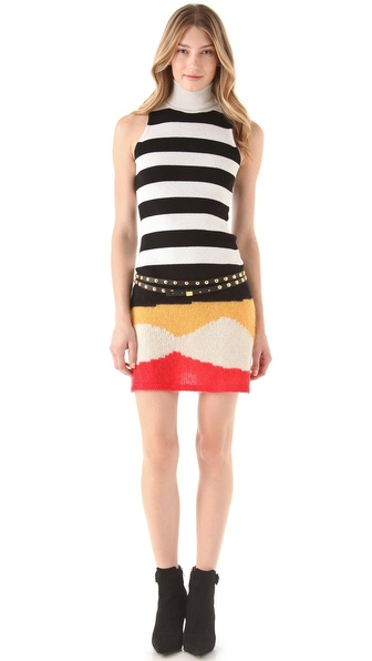 Just Cavalli Sleeveless Sweater Dress | SHOPBOP from shopbop.com