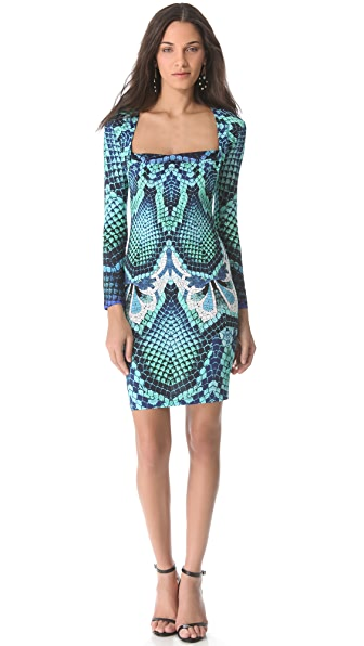 Just Cavalli Long Sleeve Dress