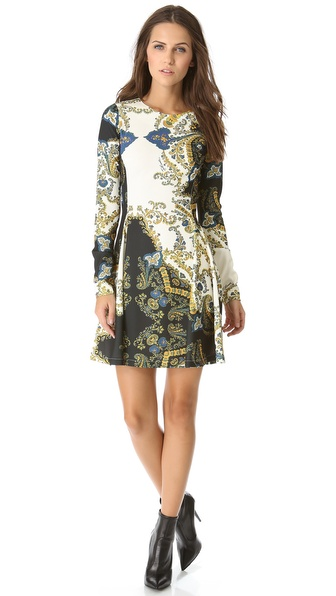 Just Cavalli Paisley Dress