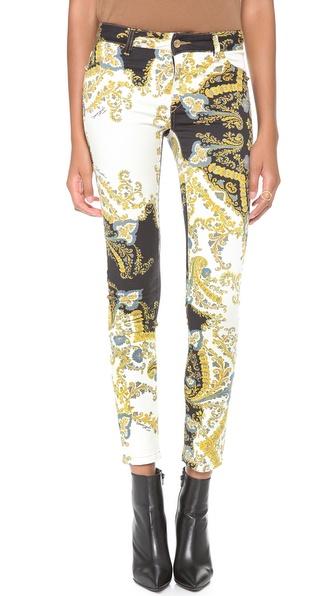 Just Cavalli Printed Skinny Jeans