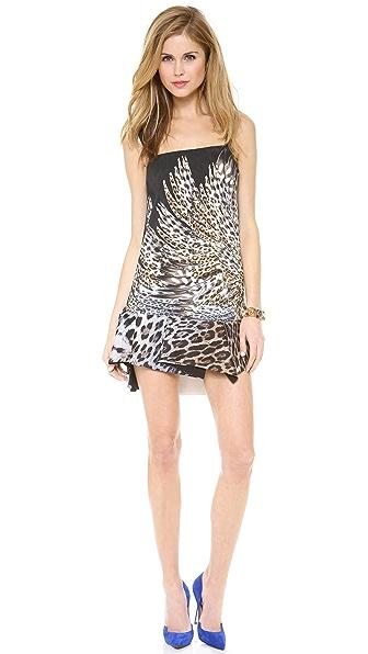 Just Cavalli Leo Degrade Print Mini Dress