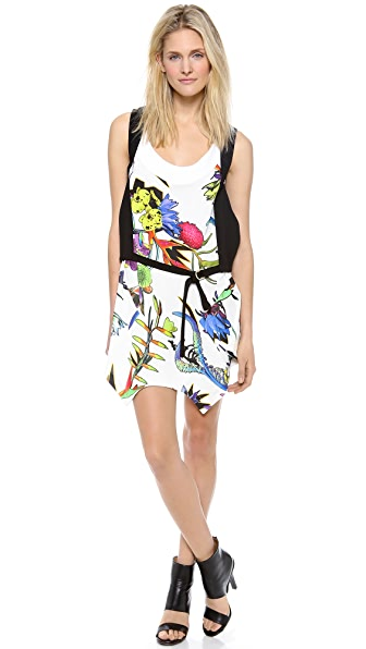 Just Cavalli Tech Flower Dress