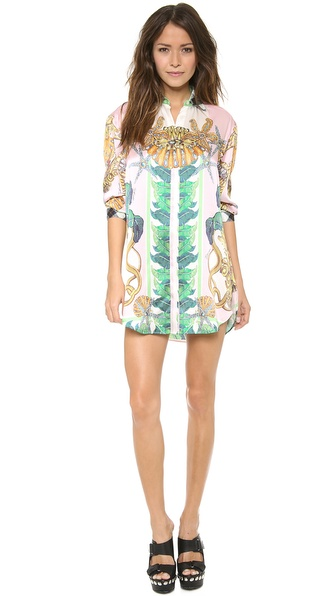 Just Cavalli Linda Print Shirtdress