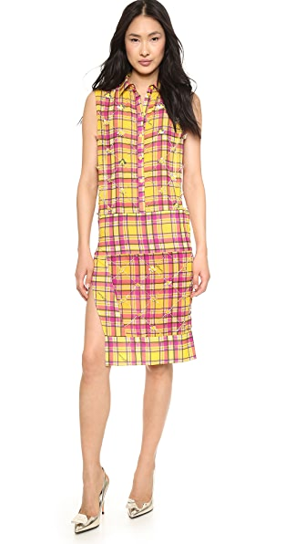 Just Cavalli Just Cavalli Tartan Print Shirtdress (Yet To Be Reviewed)