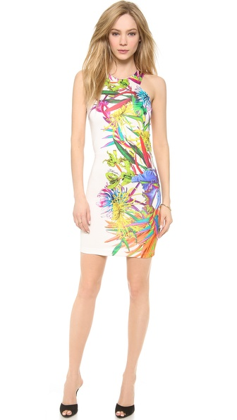 Just Cavalli Climber Flower Printed Dress