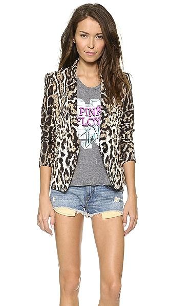 Just Cavalli Leopard Blazer