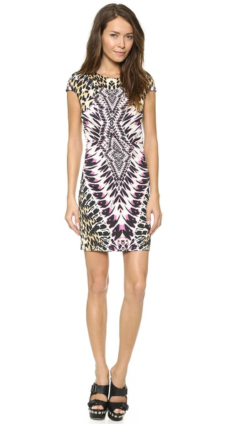 Just Cavalli Tie Dye Print Dress