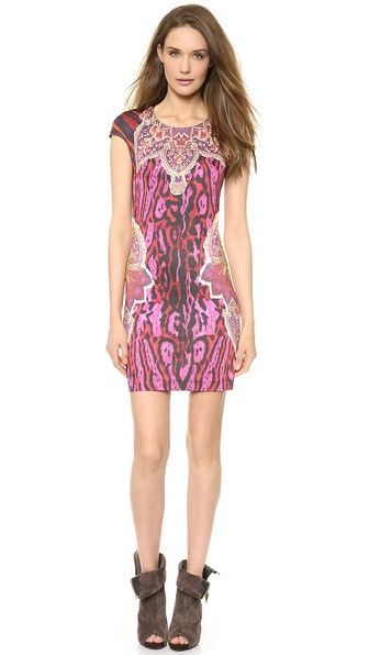 Just Cavalli Printed Dress