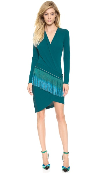 Just Cavalli Fringe Dress