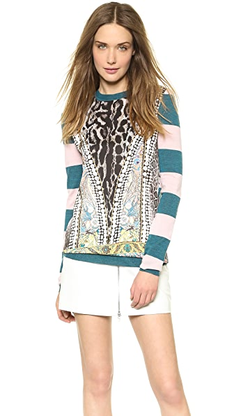 Just Cavalli Striped Sweater