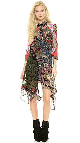 Just Cavalli Gypsy Fever Print Dress
