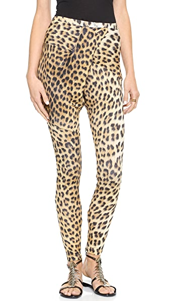 Just Cavalli Leopard Leggings