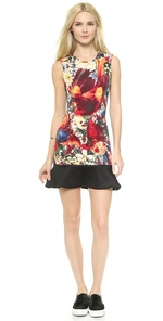 Just Cavalli Just Cavalli Floral Dress (Multicolor)