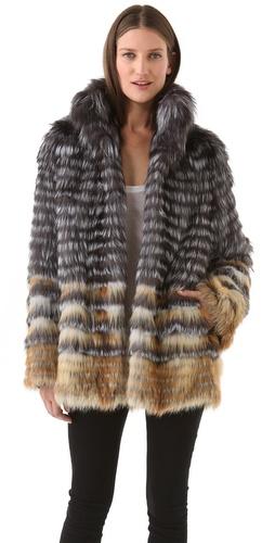 Joy Cioci Cara Fur Coat