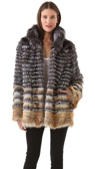 Joy Cioci Cara Fur Coat