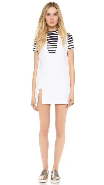 Jacquemus U Neck Dress