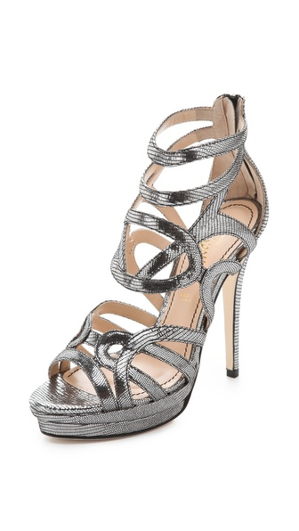 Jerome C. Rousseau Orner Geometric Sandals