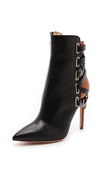 Jerome C. Rousseau Jiro Leather Booties