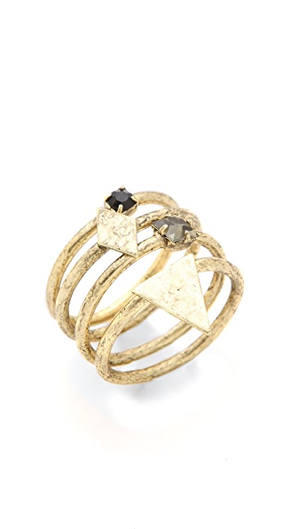Jene DeSpain Deco Native Ring Set