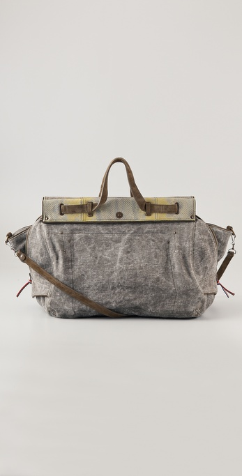 Jerome Dreyfuss Carlos Toile Satchel