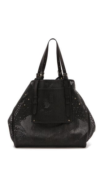 Jerome Dreyfuss Pat Perforated Tote