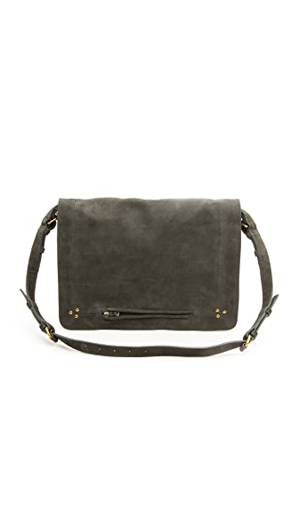 Jerome Dreyfuss Albert Plomb Nubuck Bag