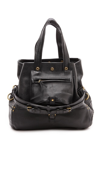 Jerome Dreyfuss Billy Medium Caviar Noir Hobo