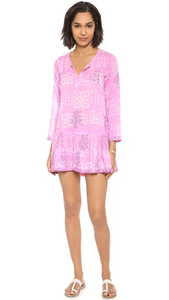 Juliet Dunn Long Sleeve Beach Dress