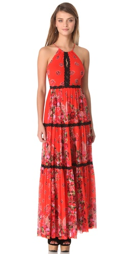 Jean Paul Gaultier Halter Maxi Dress