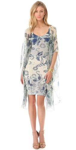 Jean Paul Gaultier Batwing Sleeve Dress