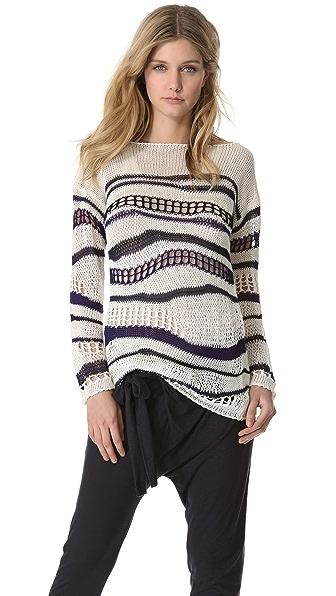 Jean Paul Gaultier Open Knit Sweater