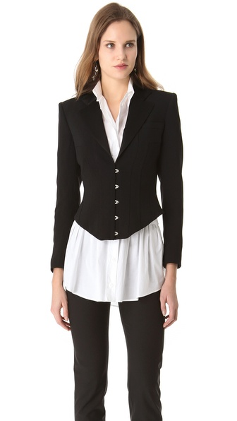 Jean Paul Gaultier Crepe Jacket