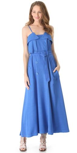 Jean Paul Gaultier Sleeveless Trench Dress