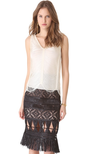Jean Paul Gaultier V Neck Top