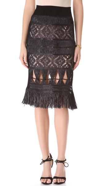 Jean Paul Gaultier Crochet Skirt